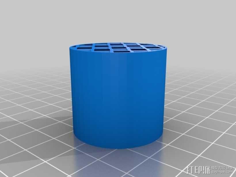 镂空圆柱体 3D模型  图10