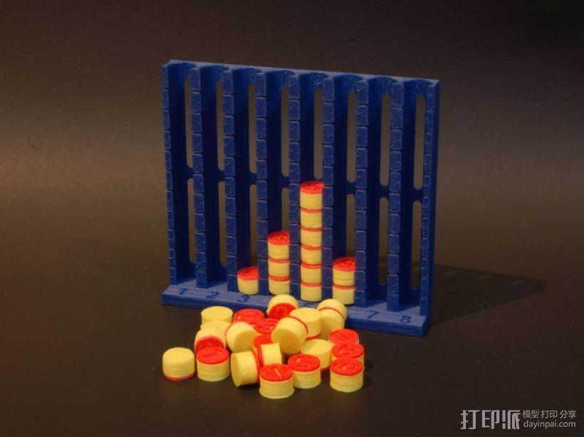 柱形图 教学工具 3D模型  图1