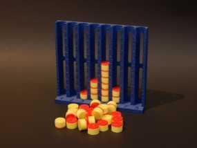 柱形图 教学工具 3D模型