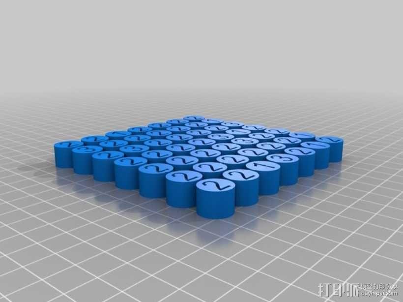 柱形图 教学工具 3D模型  图2