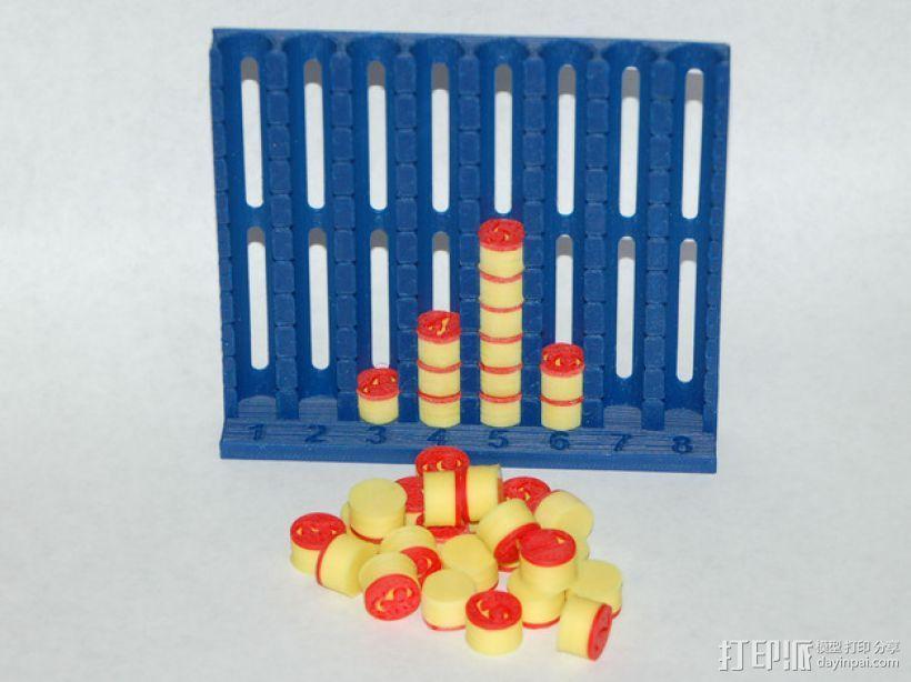 柱形图 教学工具 3D模型  图18