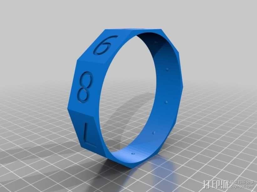 算数轴 3D模型  图6