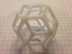 菱形三十面体 3D模型