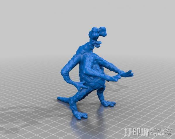 火星上的六足动物模型 3D模型  图2