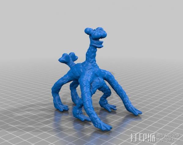 火星上的六足动物模型 3D模型  图4