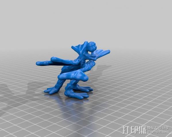 火星上的六足动物模型 3D模型  图5