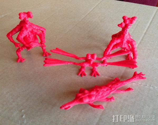 火星上的六足动物模型 3D模型  图6