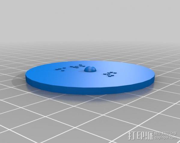 盲文板太阳系模型  3D模型  图4