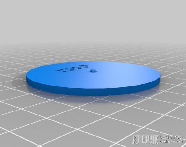 盲文板太阳系模型  3D模型  图6