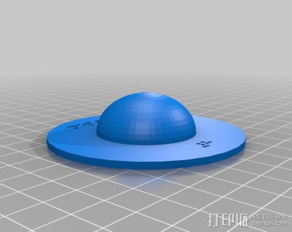 盲文板太阳系模型  3D模型  图7