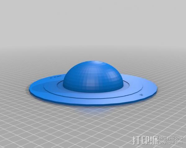 盲文板太阳系模型  3D模型  图8