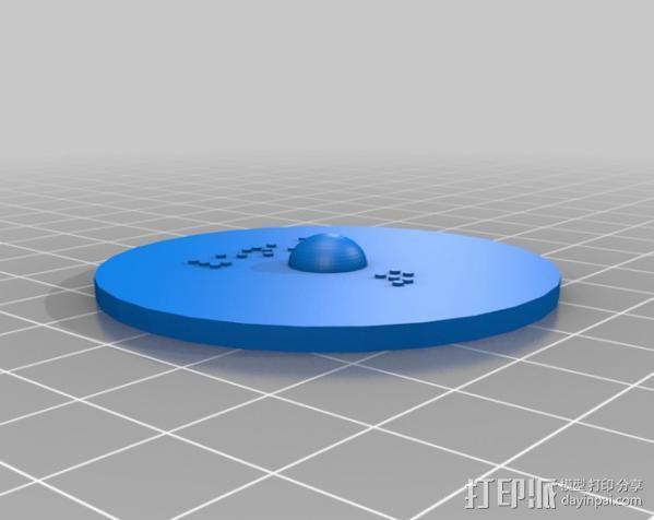 盲文板太阳系模型  3D模型  图10