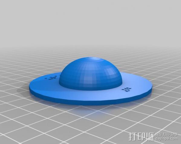 盲文板太阳系模型  3D模型  图9