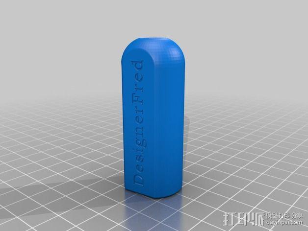 粉笔头  3D模型  图2