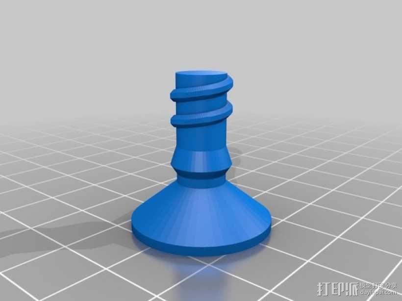 文具用品 3D模型  图1