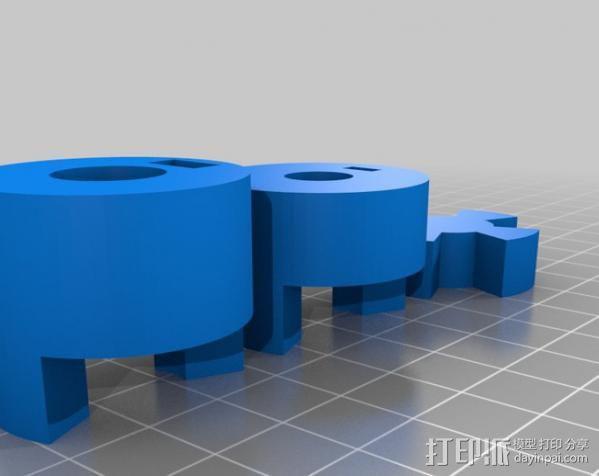 参数化联轴器 3D模型  图5