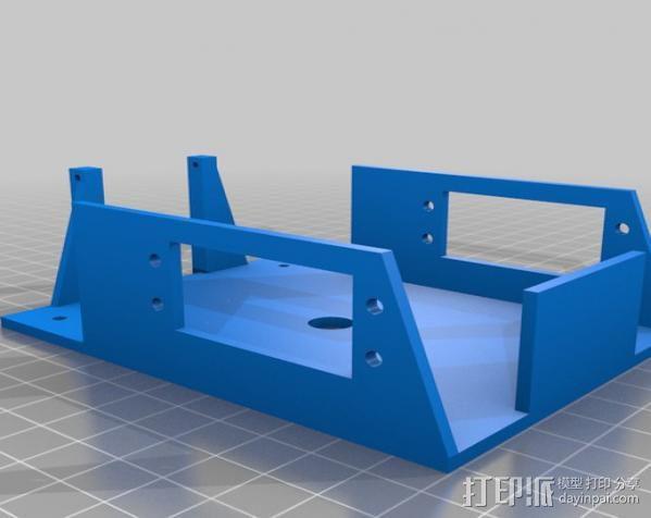 boe替换底架 底盘 3D模型  图1