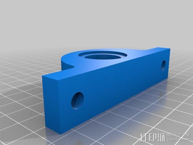 Igus J 电缆架 电缆夹 3D模型  图3