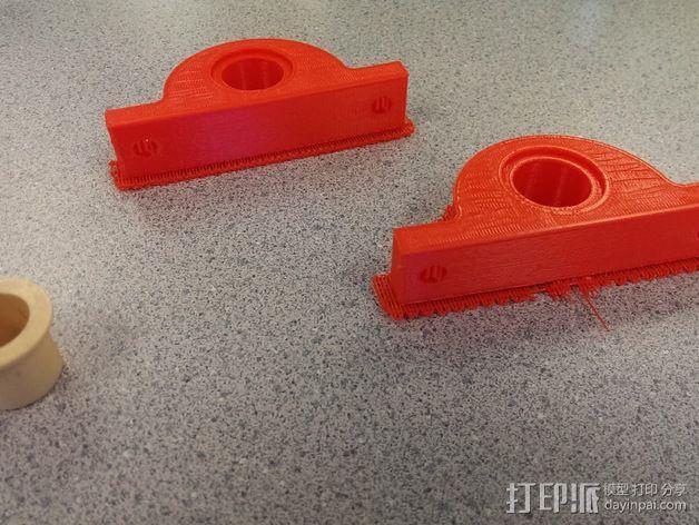 Igus J 电缆架 电缆夹 3D模型  图4