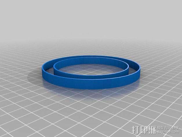 滚珠轴承 宠物圈 3D模型  图2