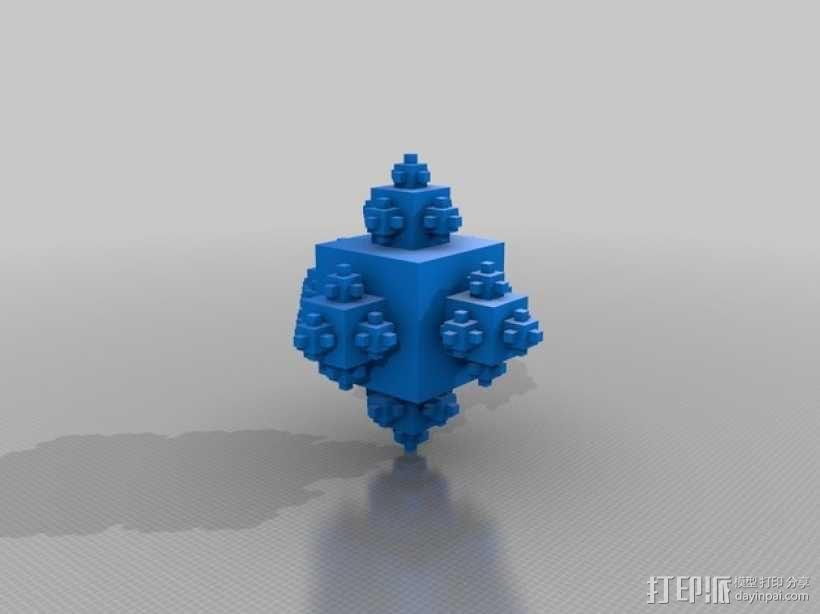 分形立方体 3D模型  图1