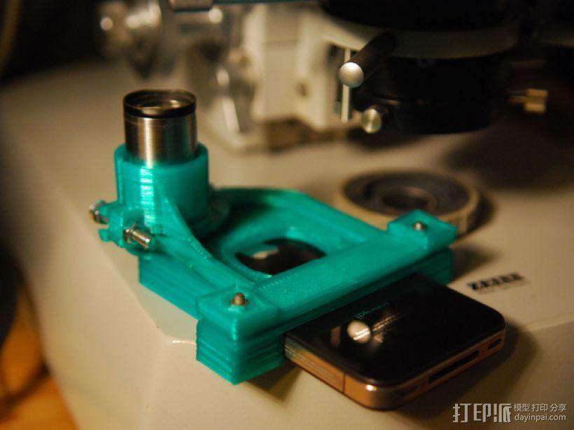 物镜适配器 3D模型  图1