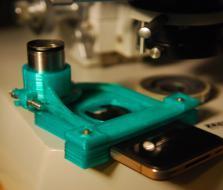 物镜适配器 3D模型