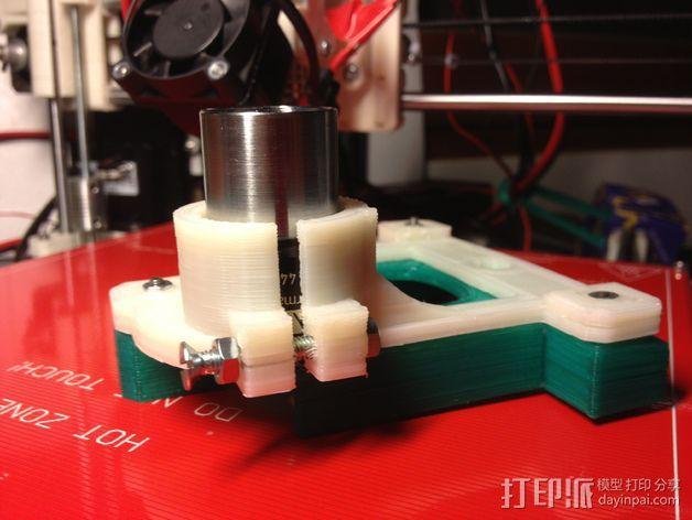 物镜适配器 3D模型  图3
