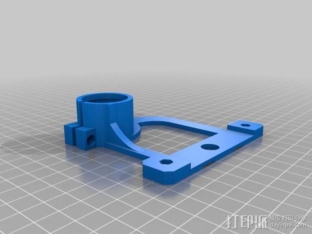 物镜适配器 3D模型  图6