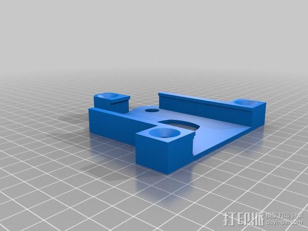 物镜适配器 3D模型  图5