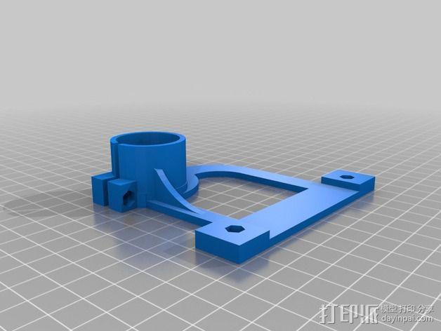 物镜适配器 3D模型  图8