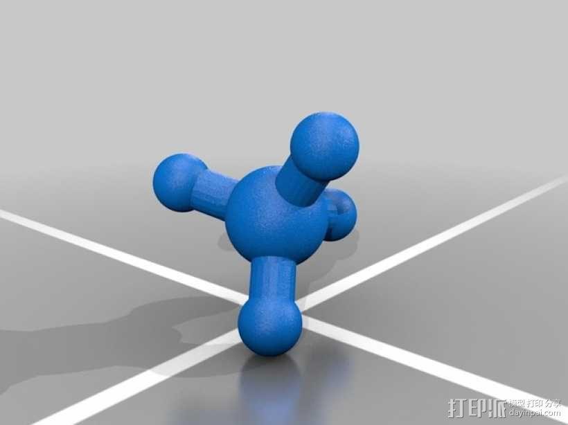分子模型 3D模型  图5