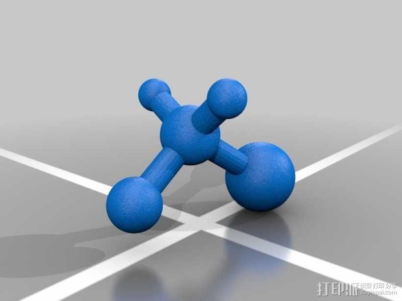 分子模型 3D模型  图6