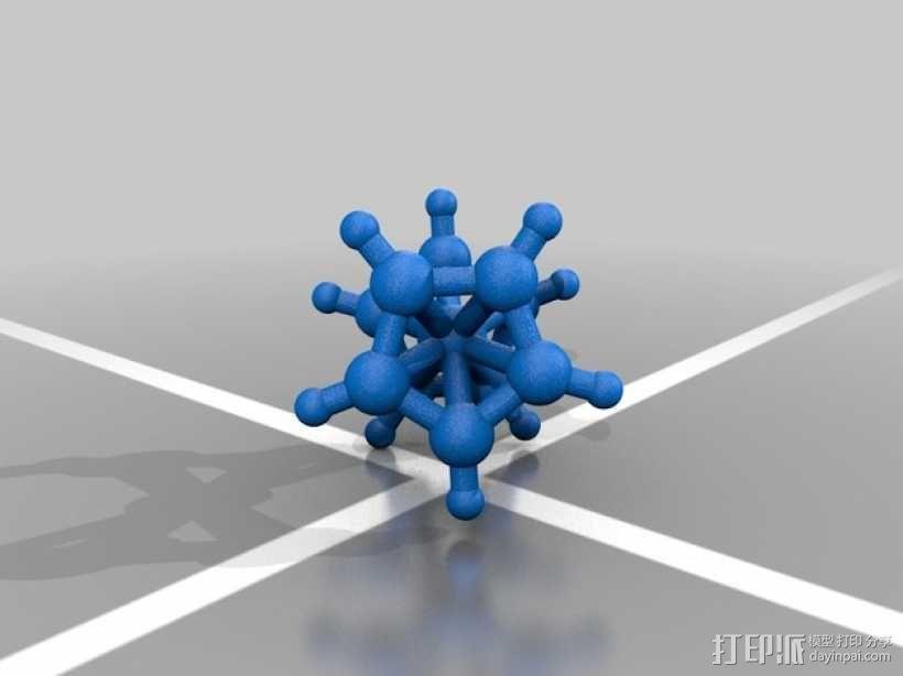 分子模型 3D模型  图10