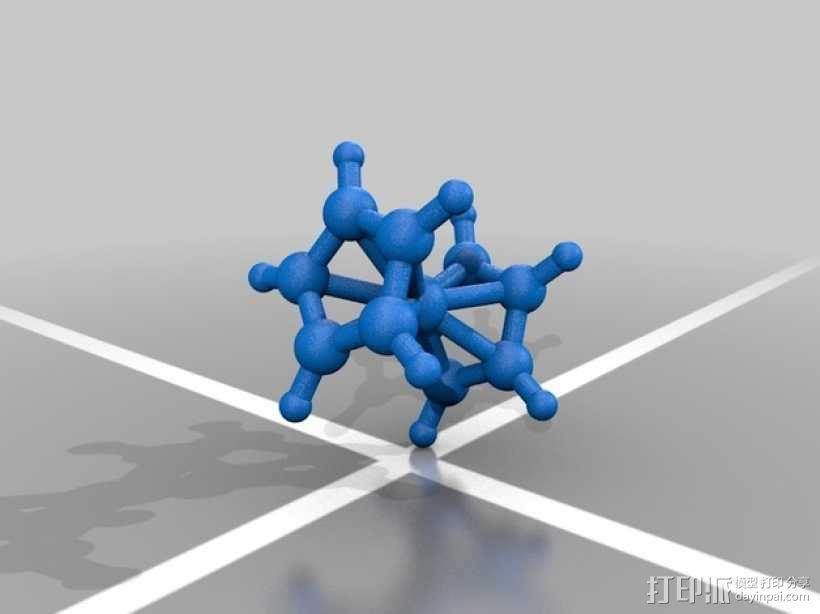 分子模型 3D模型  图11