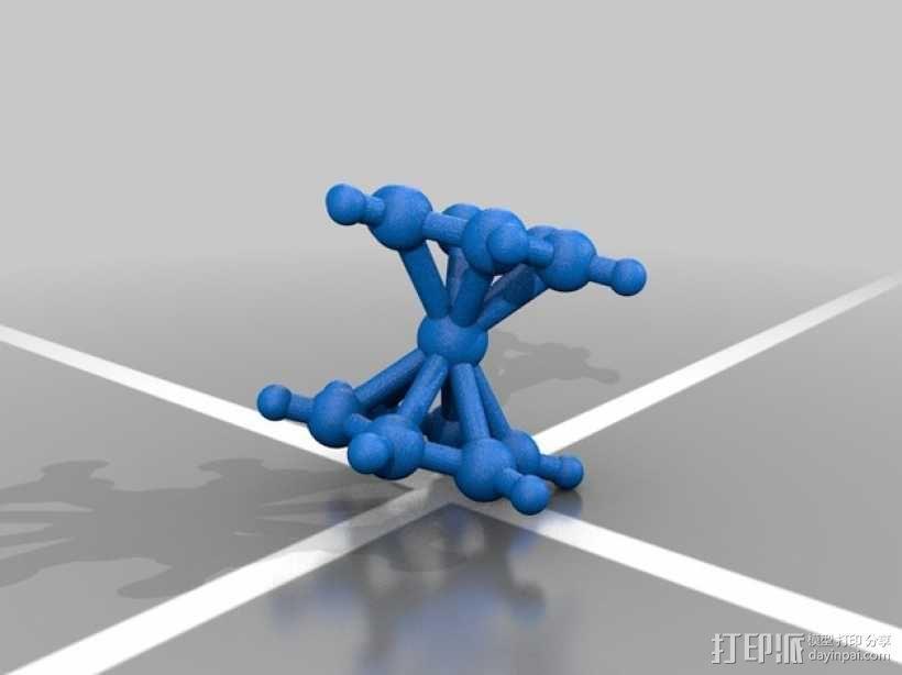 分子模型 3D模型  图17