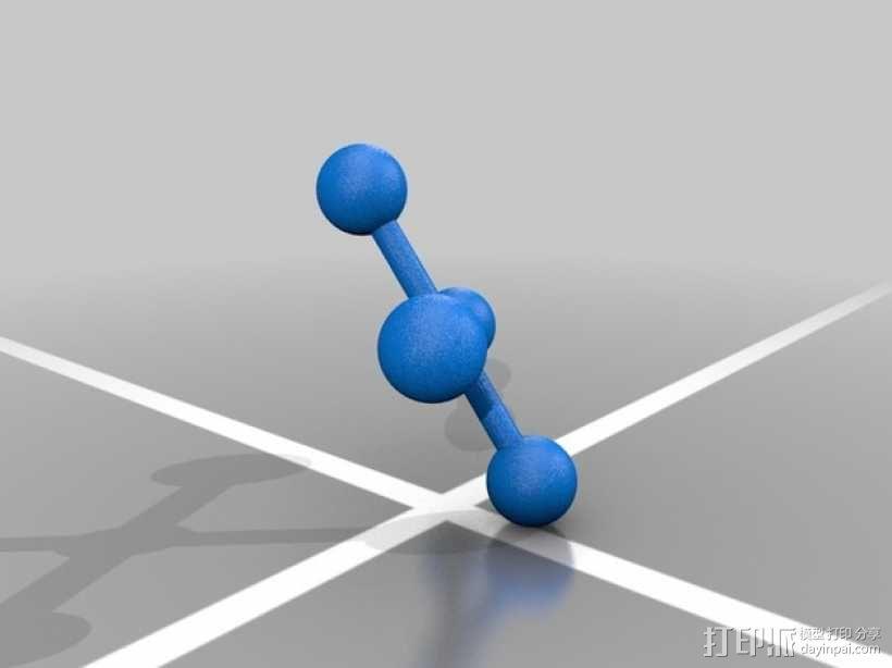 分子模型 3D模型  图18