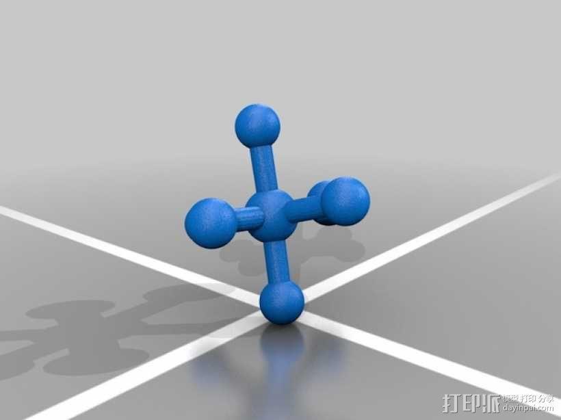 分子模型 3D模型  图22