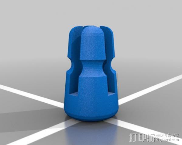 导线夹 导线环 3D模型  图3