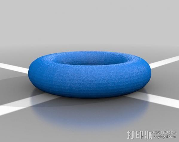 导线夹 导线环 3D模型  图2