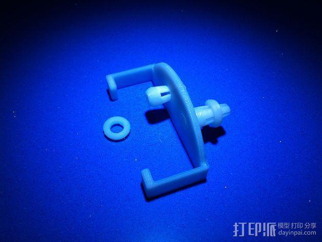 导线夹 导线环 3D模型  图4