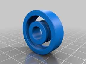 1.25 x .375滚珠轴承 3D模型