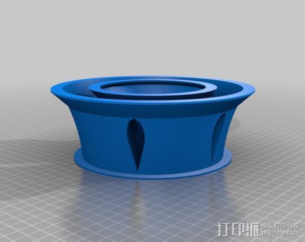 涡轮环 3D模型  图1