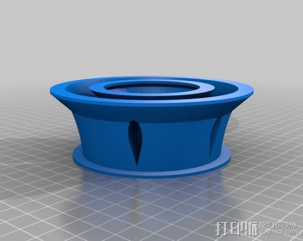 涡轮环 3D模型  图4