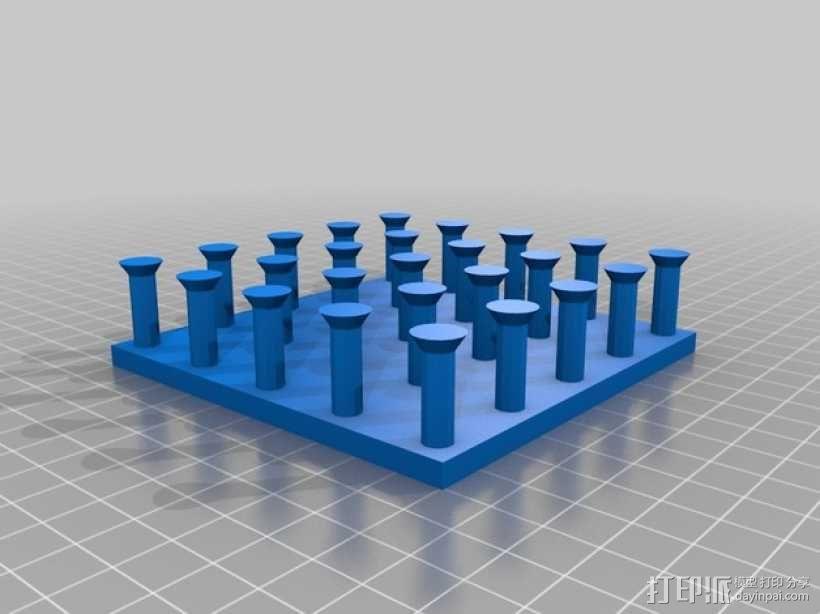 几何板 教学工具 3D模型  图1