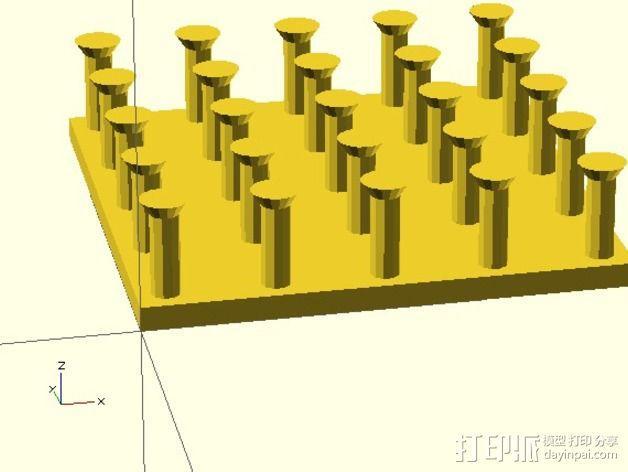 几何板 教学工具 3D模型  图2