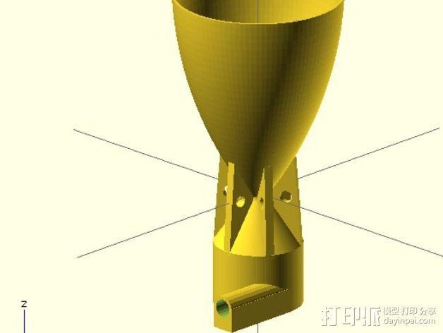 火箭喷管模型 3D模型  图5