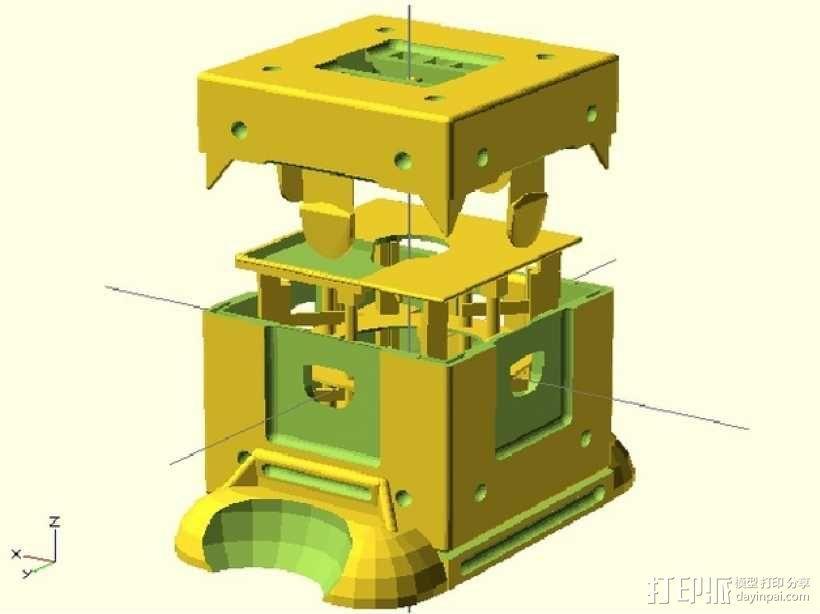 Fukushima发电机 3D模型  图1