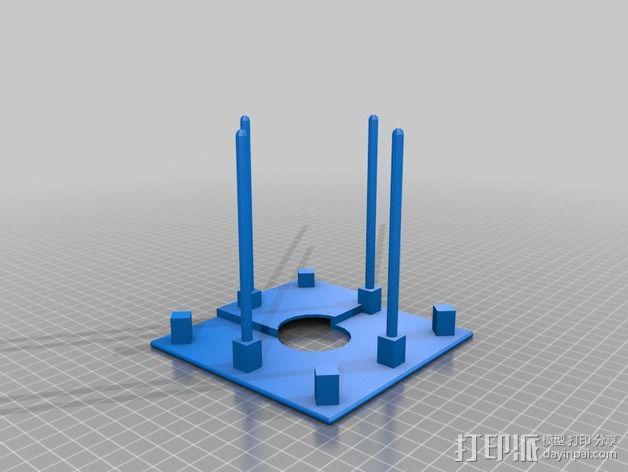 Fukushima发电机 3D模型  图5