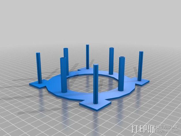 Fukushima发电机 3D模型  图6